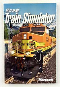 Microsoft Train Simulator (PC, 2001) in soft cardboard package