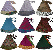 """Wholesale Offer10 Pcs Sari Beach Wrap Magic Sari Skirts 36"""" - XL"""
