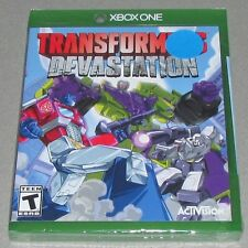 Transformers Devastation for Xbox One Brand New! Factory Sealed!