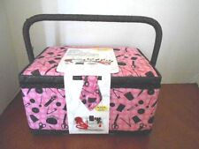 New Singer Sewing Very Large Basket with Notions Factory Sealed with Tags
