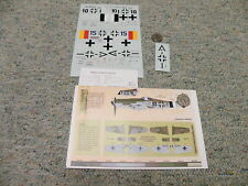 Aeromaster  decals 1/48 48-636 Too Little Too Late FW 190D-9 Part 1     F146