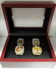 LeBron James - Championship 4 Ring Set With Wooden Box. Cleveland Miami Lakers