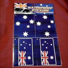 5 Waterproof Australian Flags & Southern Cross Decals Stickers Auto Body Sticker