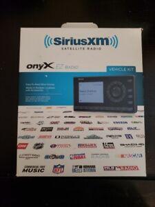 SiriusXM Onyx EZ Satellite Radio with Vehicle Kit Black with Accessories