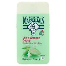 lot 3 gels douche le petit marseillais lait d'amande douce 250 ml neuf