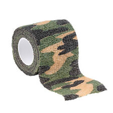 4.5m Self-Adhesive Outdoor Camoflage Camo Bandage Tape for Hunting Camping ##