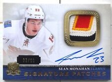 /99 4 CLRS SEAN MONAHAN ROOKIE SIGNATURE PATCHES PATCH JERSEY THE CUP 2013 14