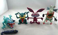 Aaahh!!! Real Monsters lot Vintage 1995 Mattel Scarfer Ickis Gromble Werfel