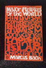 1959 Major Religions of the World by Marcus Bach Paperback Book