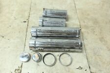 02 Yamaha XV 1700 XV1700 Road Star Warrior chrome front fork tube shock covers