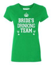 Bride's Drinking Team Wedding Party Women's T-shirt