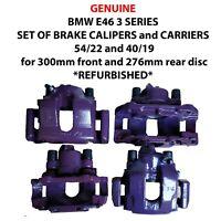GENUINE BMW 3 SERIES E46 E36 Z4 SET OF BRAKE CALIPERS CARRIERS 54/22 & 40/19