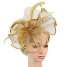 Women Fascinator Headband Fascinators Hat Church Wedding Royal Church Hair Clip