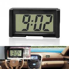 Interior Car Auto Desk Dashboard Digital Clock LCD Screen Self-Adhesive Bracket