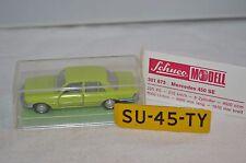 Schuco 301 873 Mercedes 450 SE 1:66 very near mint in box rare green selten