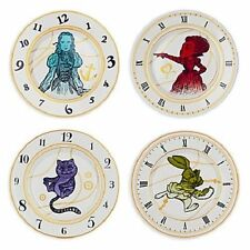 Disney Alice Through The Looking Glass Ceramic Plate Set of 4 New In Box