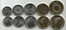 SOLOMON ISLANDS: 5 PIECE UNCIRC 2012 COIN SET, $0.10 to $2