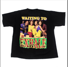RARE! Vintage Waiting To Exhale Black Unisex T-Shirt For Men Size S to 5XL