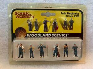 Woodland Scenics Scenic Accents Train Mechanics #A1859 HO Scale