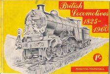 British Locomotives 1825-1960 Percival Marshall Booklet