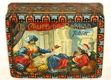 Swiss Tobler Caliph de Bagdad Iraq Harem Lady Chocolate Bonbon Tin 1920