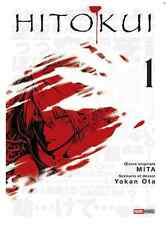 manga Hitokui Tome 1 Seinen Yoka Ota Mita Panini Hito Kui ヒト喰イ Suspense Thriller
