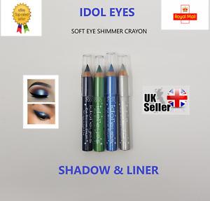 Collection 2000 Idol Eyes Soft Eye Shimmer Crayon- Eyeshadow & Eyeliner *Choose