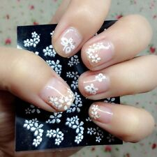 3D Flower 30 Sheet Floral Design Nail Art Sticker Decal Manicure Decoration Tips