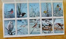 Wildlife Christmas Stamps Set 1973