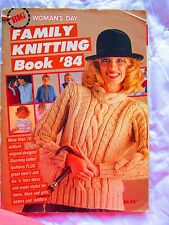 Women's Day, BIG FAMILY KNITTING BOOK '84, 70+ Patterns, Ladies, Men, Children