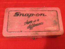 Snap On Tools SAE Tap and Die Set TD-2425 w/case