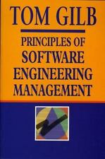 Principles Of Software Engineering Management, Tom Gilb, Good Condition, Book