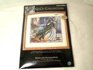 Dimensions Gold Woodland Enchantress Cross Stitch Kit NEW 14 x 12 In. #35173