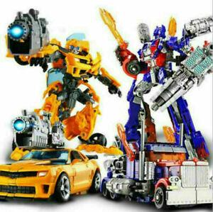 Neu Transformers Optimus Prime Truck Bumblebee Transformation Spielzeug Kinder