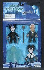 Mezco Toys Edward Scissorhands 4 Pack Figures 2005 Tim Burton Vincent Price
