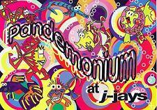 $ PANDEMONIUM Rave Flyer Flyers A5 (various dates) J-Jay's Wolverhampton
