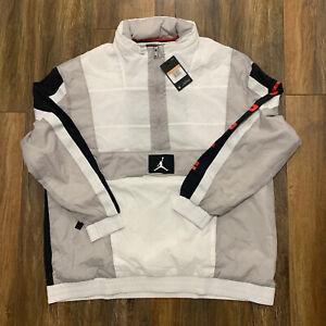[AV1834-101] Mens Air Jordan Wings Windwear Jacket Loose Fit XXL Last Dance Nike