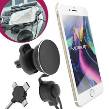 Mobilefox anti Gravity Car Ventilation Mount Holder+Charging Cable Universal