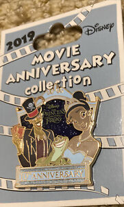 Disney Cast Exclusive Princess And The Frog 10th Anniversary Pin LE500 Tiana