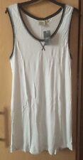 NEXT MATERNITY Long White Sporty Vest Top size 16