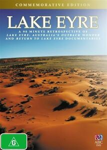 NEW Lake Eyre (Commemorative Edition) DVD R4