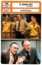FICHE CINEMA : LE GRAND DEFI - Hackman,Hershey,Hopper 1986 Hoosiers