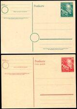 Federal 1949 pso1-2 muy cosas ** fresco postales (z7411b