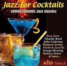 CD JAZZ FOR COCKTAILS 3 BYRD COLTRANE SHEARING JONES BAKER GARNER ROLLINS ETC
