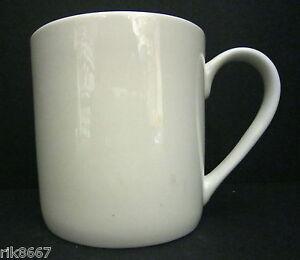 One pint pot mug extra large white fine bone china new & unused