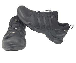 Adidas Terrex Swift R2 GTX Gore-Tex CM7492 Mens Black Waterproof Hiking Shoes 9