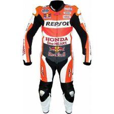 Men Honda Repsol Motorcycle Leather Riding Suit-Motorbike Racing suit MotoGP
