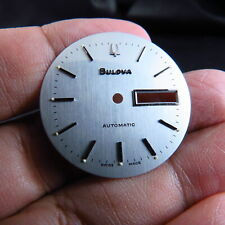 NEW OLD STOCK SWISS MADE BULOVA  DAYDATE 2836 AUTOMATIC MEN WATCH DIAL