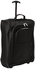 5 Cities Cabin Trolley Backpack Hand Luggage 55 Cm 42 Liters Black