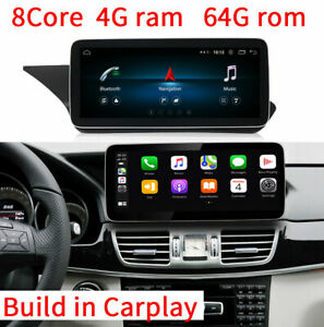 10.25 Android GPS Navigation for Benz E Class W212 2009-2016 E200 E260 Carplay